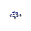 Fabrication Enterprises Moxie GT Gait Trainer, Small, Warrior Blue FNT 31-3040B