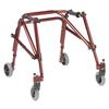 Fabrication Enterprises Nimbo posterior walker, junior, Castle Red FNT 31-3651R