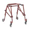 Fabrication Enterprises Nimbo posterior walker, youth, Castle Red FNT 31-3652R