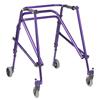 Fabrication Enterprises Nimbo posterior walker, young adult, Wizard Purple FNT 31-3653P