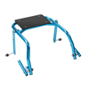 Fabrication Enterprises Nimbo Posterior Walker, Accessory, Seat Attachment for Youth Walker, Blue FNT 31-3732