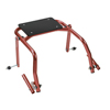 Fabrication Enterprises Seat Attachment for Nimbo Posterior Walker, Youth, Castle Red FNT 31-3732R