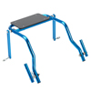Fabrication Enterprises Nimbo Posterior Walker, Accessory, Seat Attachment for Young Adult Walker, Blue Ice FNT 31-3733