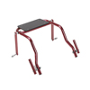 Fabrication Enterprises Seat Attachment for Nimbo Posterior Walker, Young Adult, Castle Red FNT 31-3733R