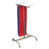 Fabrication Enterprises Floor Rack with Casters - Holds 30 Mats FNT 32-1490