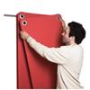 Fabrication Enterprises Wall Mat Hanger, 86 L x 8 H x 16 D, 10 Capacity FNT 32-1491