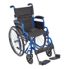 Fabrication Enterprises Ziggo 16 Wheelchair, Blue FNT 32-2062