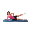 "Clean and Green: Fabrication Enterprises - CanDo® Exercise Mat - Center Fold - 2"" EnviroSafe® Foam with Cover - 2' x 6' - Specify Color"