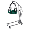 "patient lift: Fabrication Enterprises - Hydraulic Powered Patient Lift - 4 point cradle - with 5"" casters"