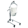 "patient lift: Fabrication Enterprises - Hydraulic Powered Patient Lift - 6 point cradle - with 5"" casters"