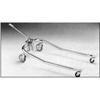 "patient lift: Fabrication Enterprises - Hydraulic Powered Patient Lift - 6 point cradle - 3"" casters only"