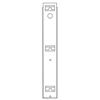 patient lift: Fabrication Enterprises - Battery Powered Patient Lift Accessory - Wall Mount Charger Bracket