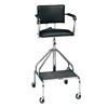 Fabrication Enterprises Adjustable high-boy whirlpool chair with belt, 3