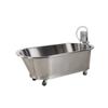 Fabrication Enterprises Low boy mobile whirlpool, slant back, SB-100-M, 100 gallon, 76Lx40Wx26D FNT 42-1214