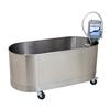 Fabrication Enterprises Low boy mobile whirlpool, L-75-M, 75 gallon, 52Lx24Wx18D FNT 42-1215