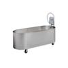 Fabrication Enterprises Low boy mobile whirlpool, L-90-M, 90 gallon, 60Lx24Wx18D FNT 42-1216