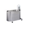 Fabrication Enterprises Podiatry mobile whirlpool, P-10-M, 10 gallon, 22Lx13Wx12D FNT 42-1245