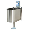 Fabrication Enterprises Extremity stationary whirlpool with stand, E-22-SP 22 gallon, 32Lx15Wx25D FNT 42-1251