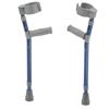 Fabrication Enterprises Pediatric Forearm Crutches, Pair, Small (15 To 22 Grip Height), Blue FNT 43-2067B