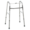 Fabrication Enterprises Folding 2-Button Walker, Junior, No Wheels, 1 Each FNT 43-2102