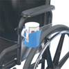 Fabrication Enterprises Wheelchair Accessory, Clamp-On Cup Holder FNT 43-2286