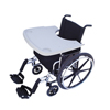 Wheelchair Parts Accessories Trays: Fabrication Enterprises - Wheelchair Tray with Rim and Cup Inserts, Sand Colored