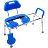 Fabrication Enterprises HydroGlyde Sliding Bath Bench, Blue FNT 43-2360