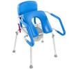 Fabrication Enterprises GentleBoost Spring Assist Shower/Commode Chair FNT 43-2381