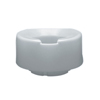 bathroom aids: Fabrication Enterprises - Contoured Elevated Toilet Seat, Standard with Slip-In Bracket, 6""