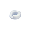 bathroom aids: Fabrication Enterprises - Standard Arthro® Toilet Seat with Slip-In Bracket, Right
