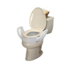 Rehabilitation: Fabrication Enterprises - Elevated Toilet Seat with Arms and Lock-On Bracket