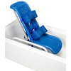 Fabrication Enterprises Reclining Bath Chair with Safety Harness, Small to 100 lb. FNT 45-2200