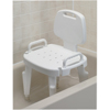 bathroom aids: Fabrication Enterprises - Adjustable Shower Seat with Arms and Back