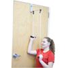 Rehabilitation: Fabrication Enterprises - CanDo® Overdoor Shoulder Pulley - Double Pulley with Door Bracket