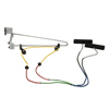 Rehabilitation: Fabrication Enterprises - CanDo® Overdoor Shoulder Pulley - Double Pulley with Door Bracket - Visualizer® Color System