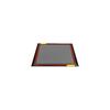 Fabrication Enterprises Dycem, CleanZone Floor Mat System, 4 x 4, Titanium FNT 50-1635GRY