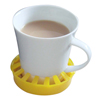 Fabrication Enterprises Dycem® Non-Slip Molded Cup/Can/Glass Holder (3-1/2 Diameter), Yellow FNT 50-1652Y