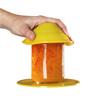 Fabrication Enterprises Dycem® Jar Opener and 5.5 Round Table Mat Set, Yellow FNT 50-1690Y