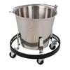 Fabrication Enterprises Clinton, Stainless Steel Kick Bucket, Frame Included FNT50-2010