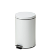 Fabrication Enterprises Clinton, Small Round Waste Receptacle, White, 13 Quart FNT 50-2026