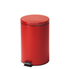 Fabrication Enterprises Clinton, Small Round Waste Receptacle, Red, 20 Quart FNT 50-2027