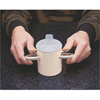 Drinkware: Fabrication Enterprises - Thumbs-Up Cup and Spout Lid
