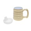 Fabrication Enterprises Hand-To-Hand Mug 10Oz with Spout Lid FNT 60-1070