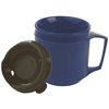 Drinkware: Fabrication Enterprises - Weighted Cup, No-Spill Lid 8 oz.