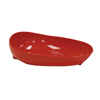 Fabrication Enterprises Non-Skid Scoop Dish, Red FNT 62-0141