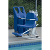 Fabrication Enterprises The Portable Pro Pool Lift with Weight Plates, 220V FNT 66-0002B