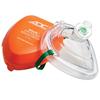 Fabrication Enterprises Adc Adsafe Cpr Pocket Resuscitator, Adult, Orange, W/ Case FNT 77-0006