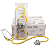 Fabrication Enterprises Adc Proscope Spu Dual Head Stethoscope, 32.25, Yellow FNT 77-0024