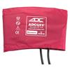 Fabrication Enterprises Adc Bariatric Adcuff Sphyg Cuff, 2 Tube, Burgundy FNT 77-0031
