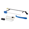 "Rehabilitation: Fabrication Enterprises - FabLife™ Hip Kit: 32"" Reacher, Contoured Sponge, Formed Sock Aid, 18"" Plastic Shoehorn"